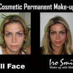 Full Face Permanent Tattoo Makeup