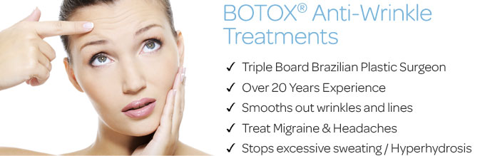 Botox Anti Wrinkle Injections in Dubai